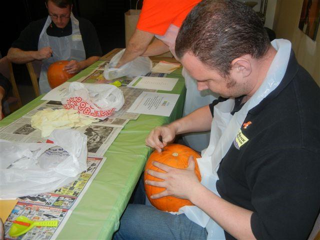 Pumpkin Palooza - Let the Carving Begin