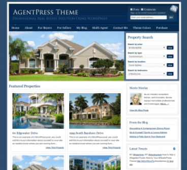 agentpress-premium-real-estate-wordpress-theme from studiopress