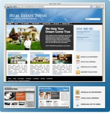 ireal Estate Theme