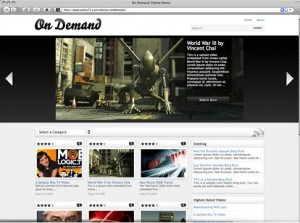 On demand WordPress theme from Press 75