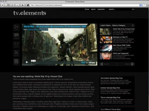 TV Elements WordPress theme from Press 75