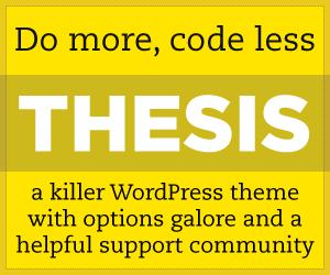 Thesis - Premium WordPress theme framework