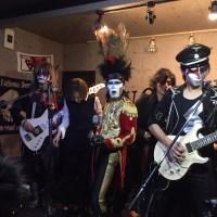 聖飢魔IIのカバーバンド ファシストさんが地元に遊びに来てくれました♪