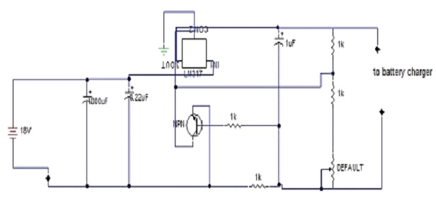 A REPORT ON BATTERY CHARGER CIRCUIT USING LM317
