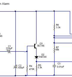 circuit diagram rain alarm [ 1423 x 677 Pixel ]
