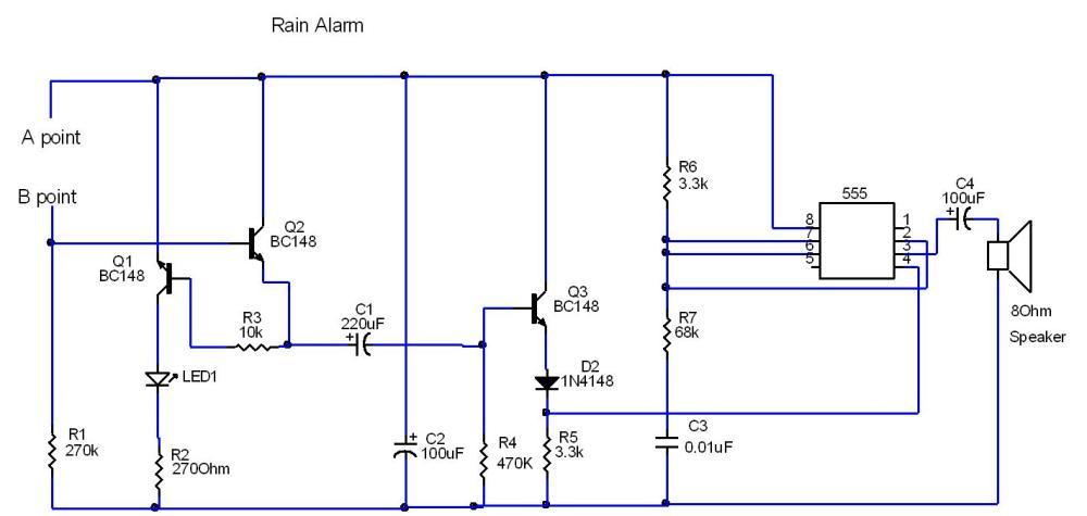 medium resolution of circuit diagram rain alarm