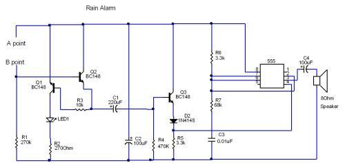small resolution of circuit diagram rain alarm