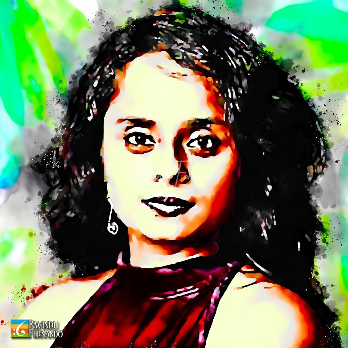 Nadee Kammallaweera - Digital Watercolor Painting
