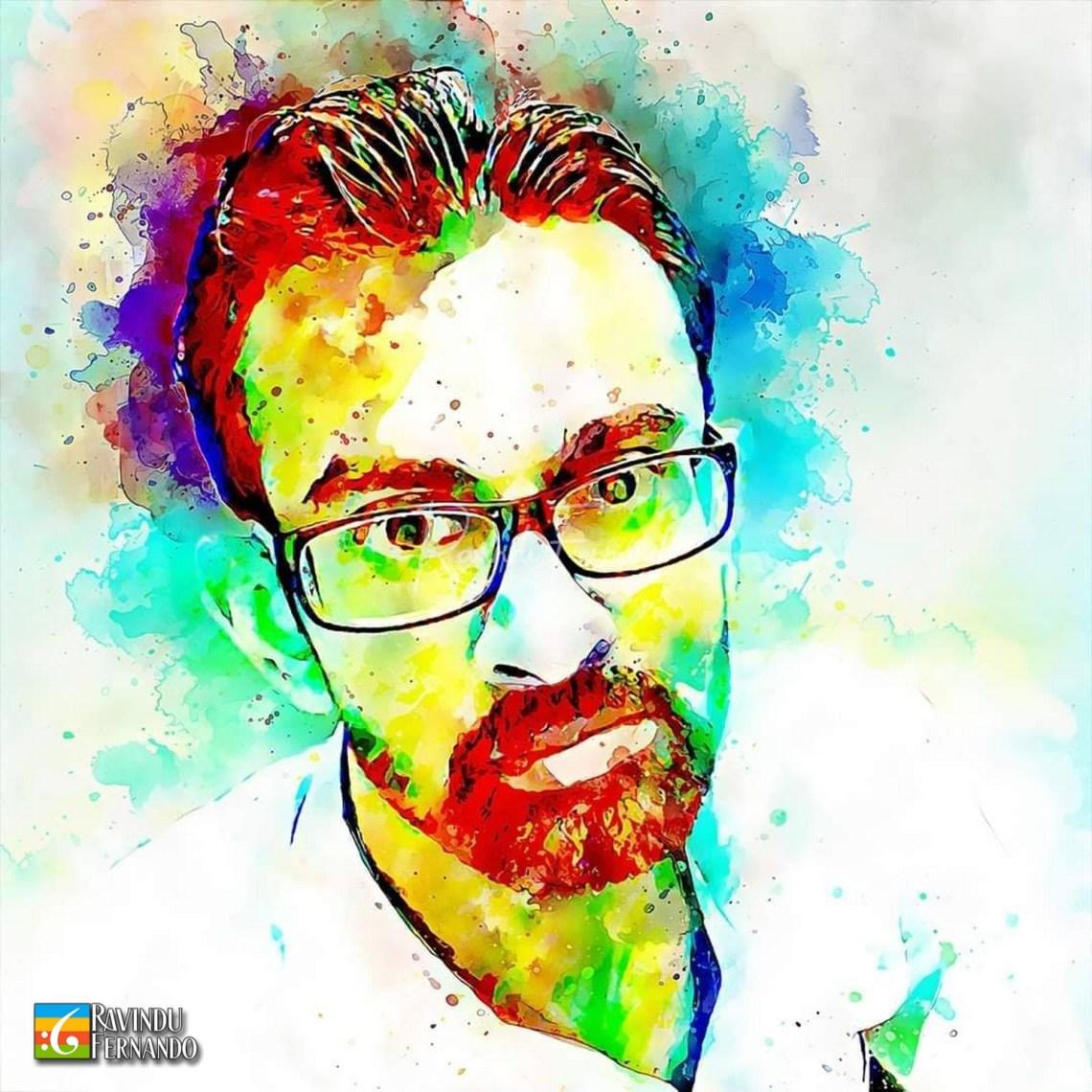Sandaru Wijayasena - Digital Watercolor Painting