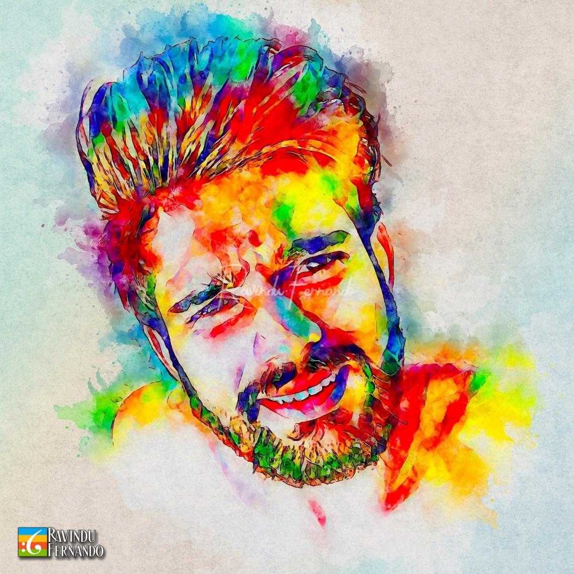 Sandaru Dasanayake - Digital Watercolor Painting