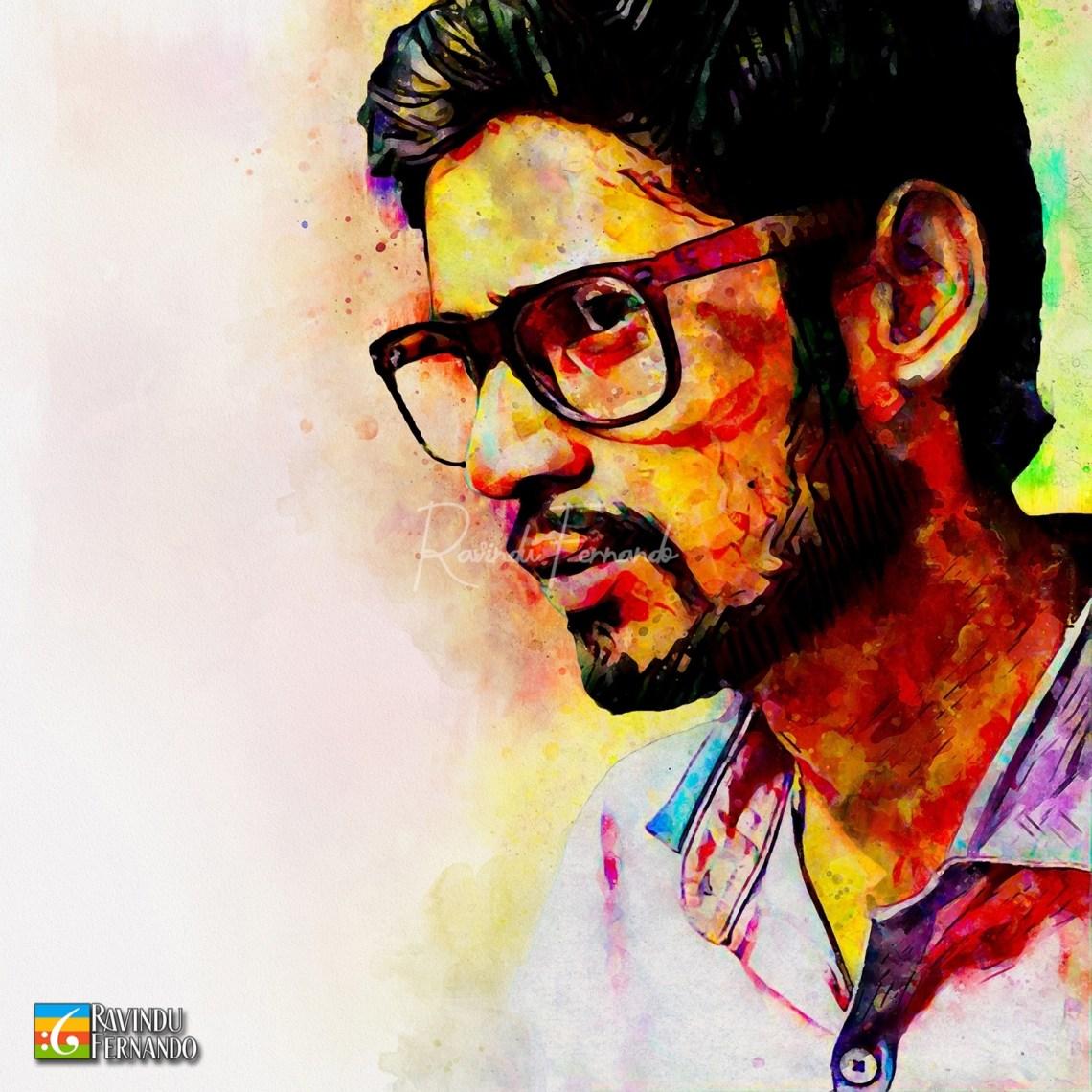 Vimukthi Dushantha - Digital Watercolor Painting