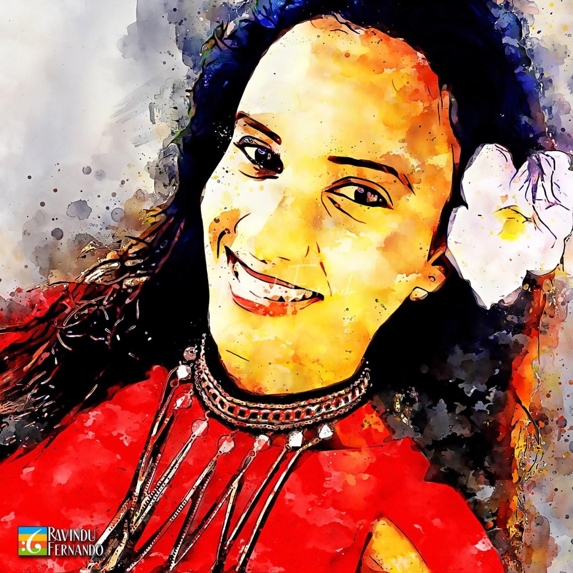 Dasuni Jayasinghe - Digital Watercolor Painting