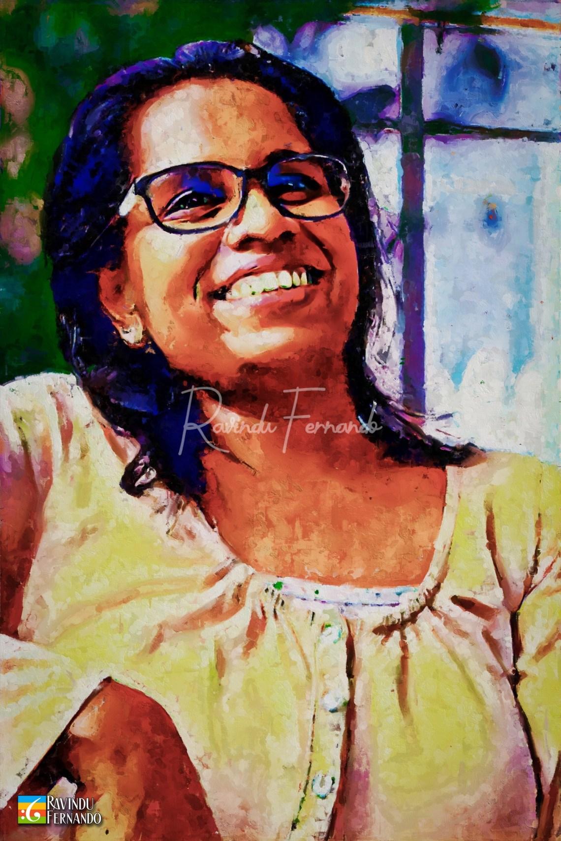 Upeksha Imali Digital Painting