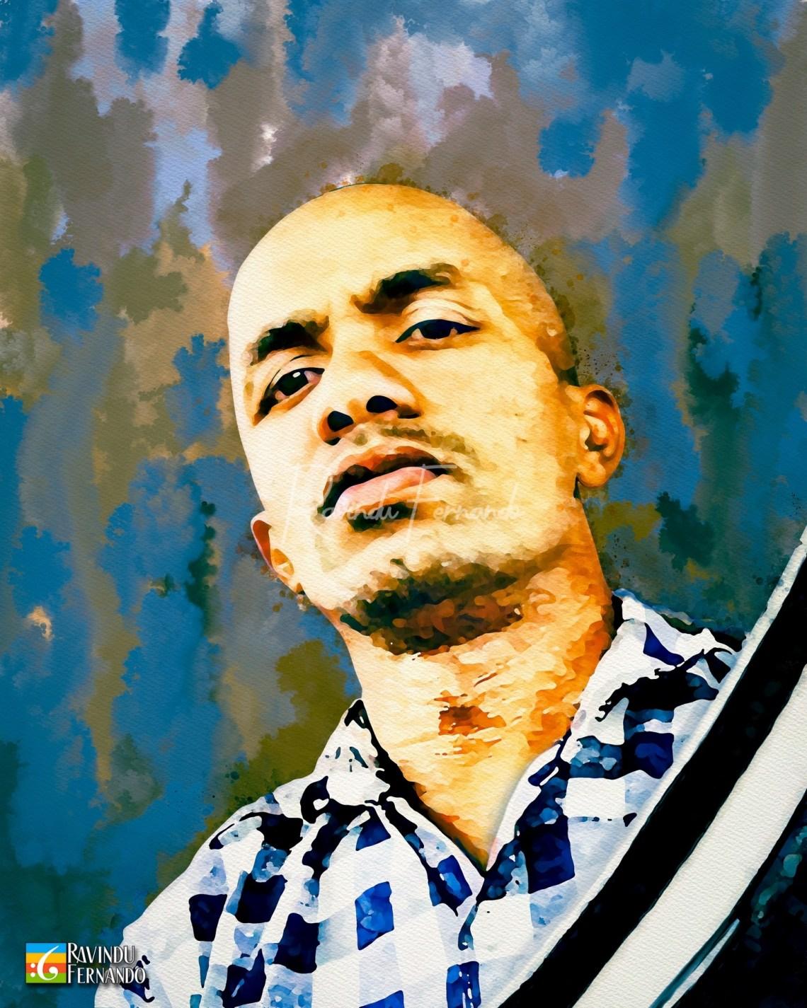 Shan Manamendra - Digital Watercolor Painting