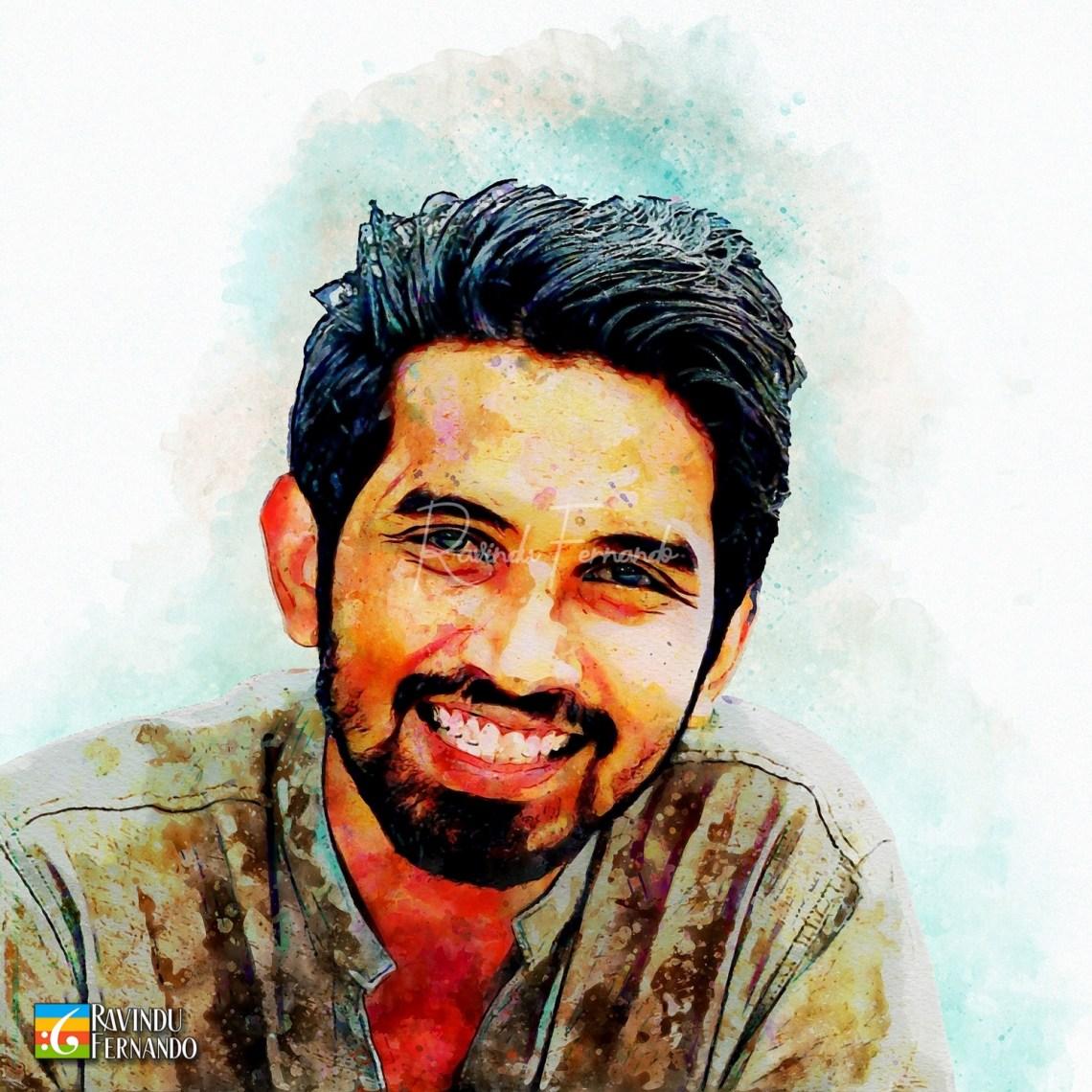 Subodha Sanjeewa Wijesinghe - Digital Watercolor Painting