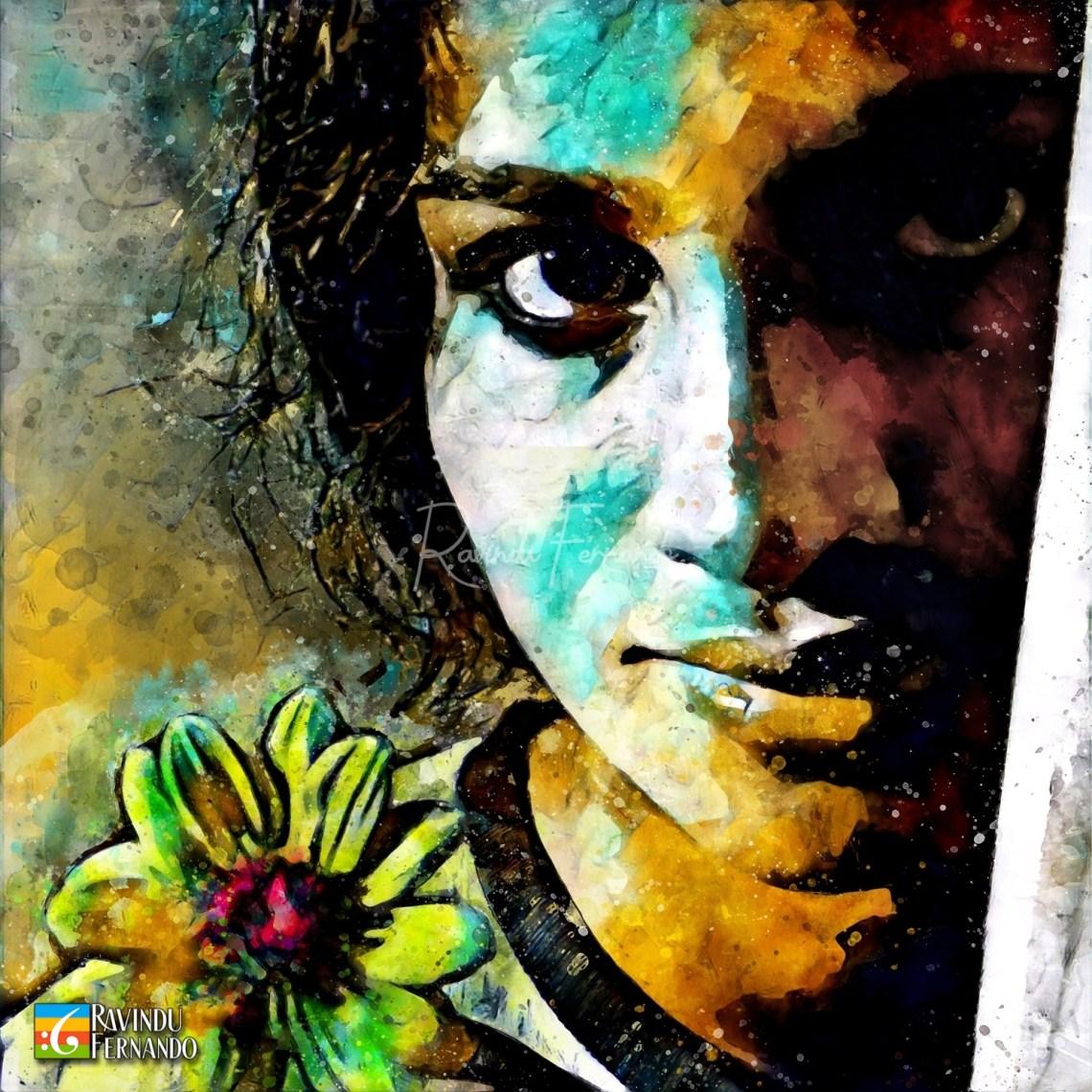 Swarna Mallawarachchi - Digital Watercolor Painting