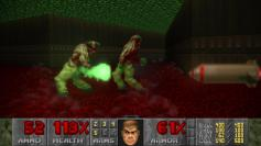 DoomGuy is fast. So fast, he's able to almost outrun rockets.