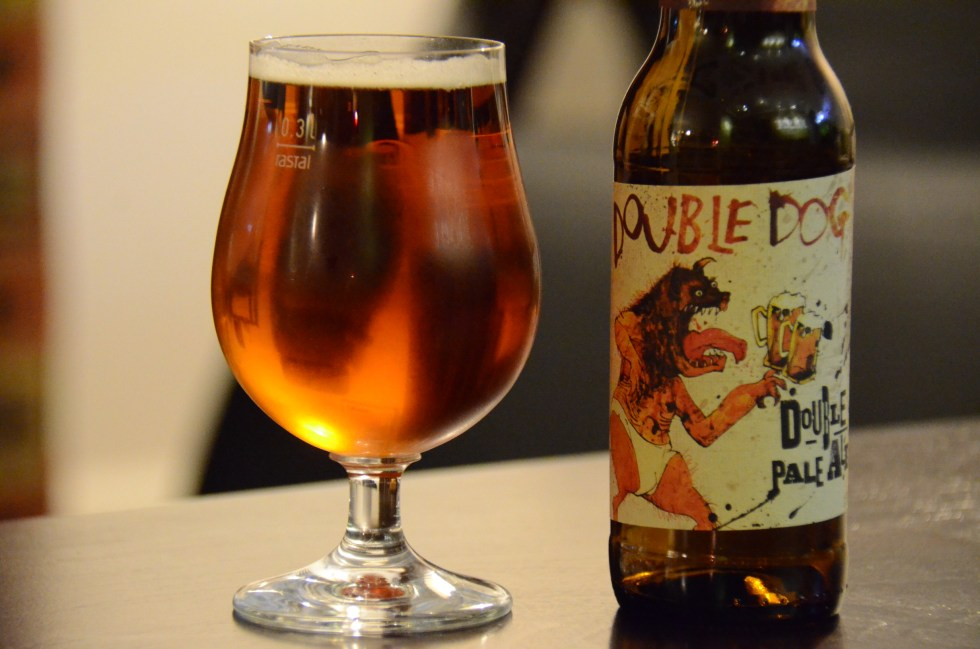 Flying Dog - Double Dog - Double IPA - photo by David K. Sutton