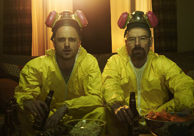 Walt & Jesse - Breaking Bad - Photo by Frank Ockenfels / AMC