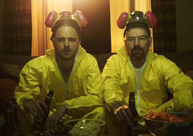 Walt & Jesse - Breaking Bad - Photo by Frank Ockenfels / AMC
