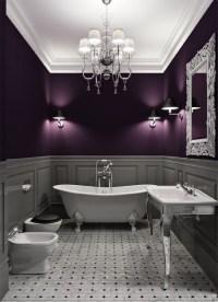 purple and gray bathroom Archives - Sarah Rae Vargas