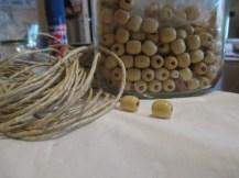Perline in legno....