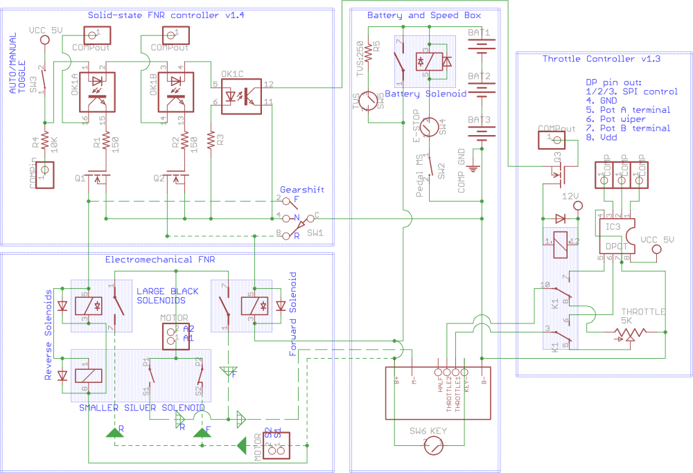medium resolution of golf cart controller schematics