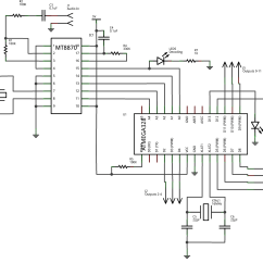 Dtmf Decoder Ic Mt8870 Pin Diagram Animal Skin Cell Dtmfduino Remote Control Your Entire House From Phone