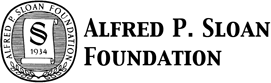 Supported by the Alfred P. Sloan Foundation