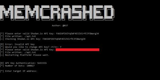 Memcrashed-DDoS-Exploit