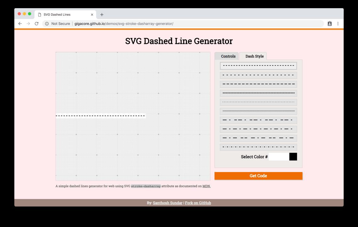 gigacore.github.io/demos/svg-stroke-dasharray-generator
