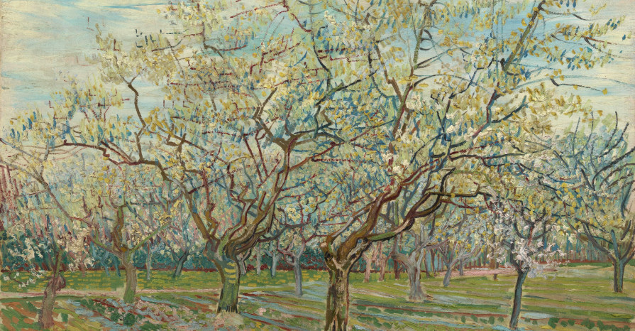 The White Orchard: Vincent van Gogh