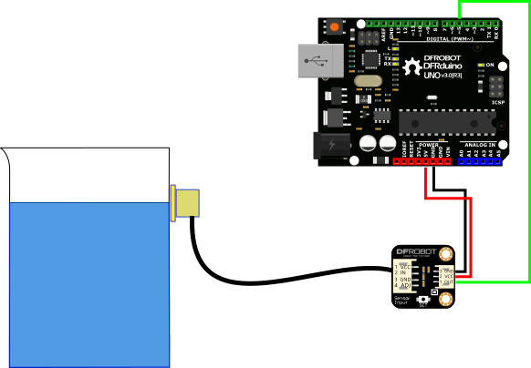 Water Level Sensor Wiring Diagram Water Level Detector With