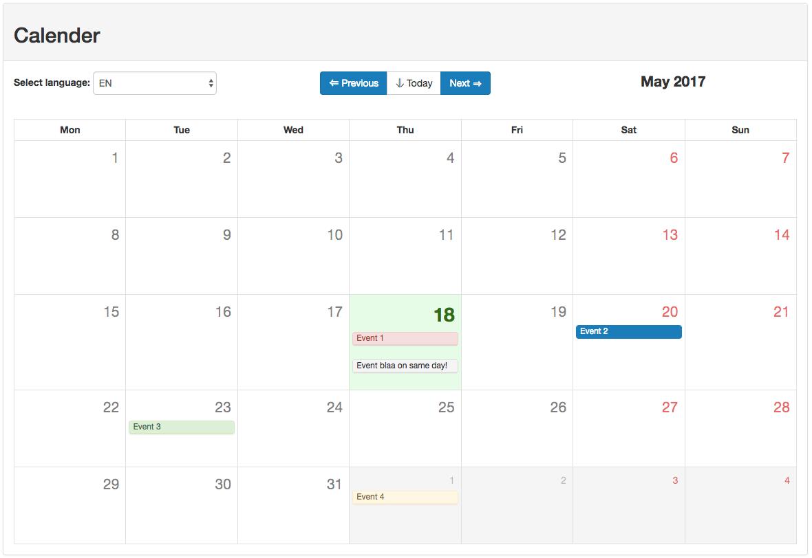 vue-bootstrap-calendar - npm