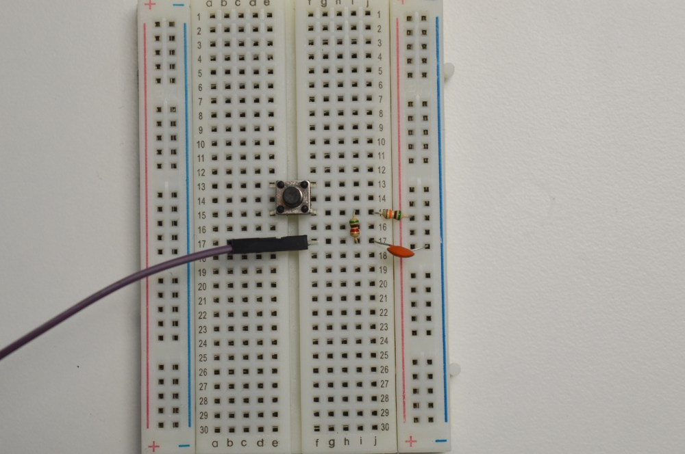 medium resolution of debouncing circuit for the push button