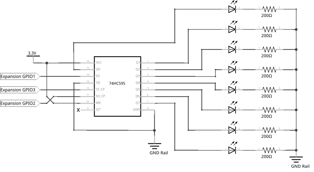 medium resolution of circuit diagram before we get to working with our fancy chip we need to learn how to properly orient them on the breadboard so we don t plug them in