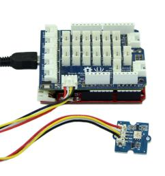 connect it to i2c port of seeeduino or grove base shield via a grove cable and connect arduino to pc via a usb cable  [ 1873 x 1350 Pixel ]