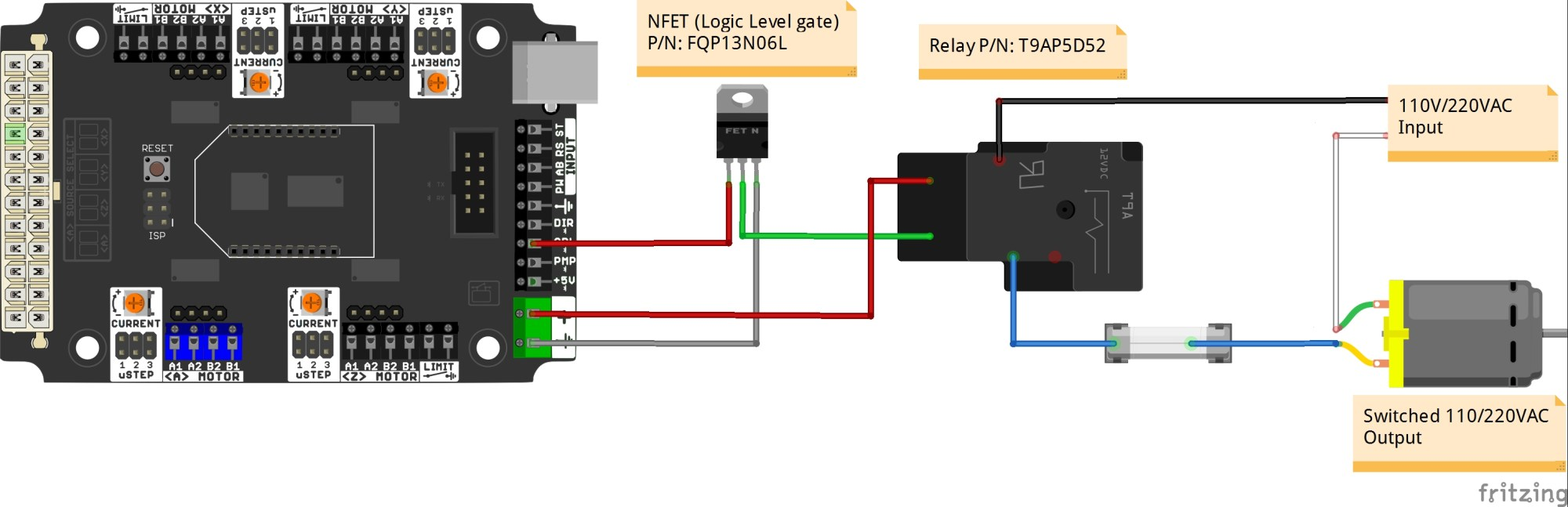 hight resolution of buffered output n mosfet