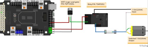 small resolution of buffered output n mosfet