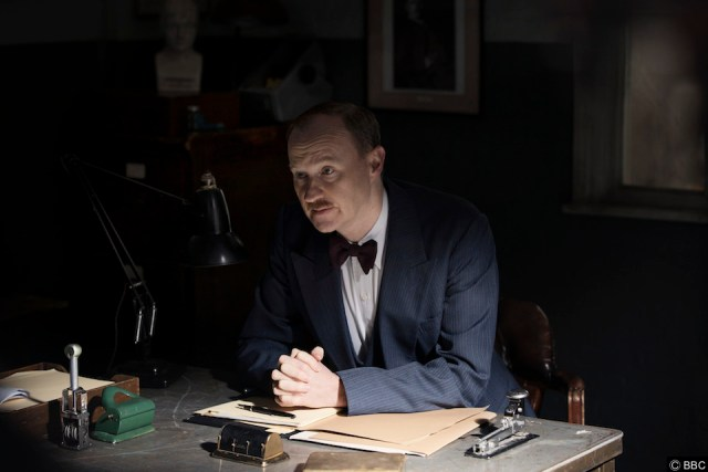 Who is Mark Gatiss who stars in Against The Law on BBC 2