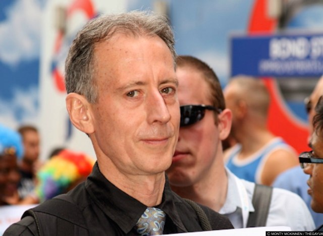 Theresa May left Peter Tatchell off the guest list for a bash celebrating LGBT life in the UK