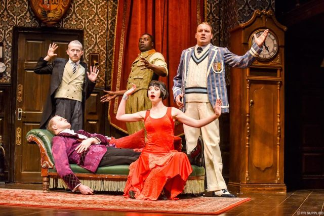 The Play That Goes Wrong, Theatre Royal Brighton