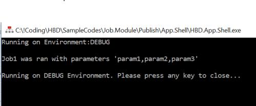 App Shell Job1