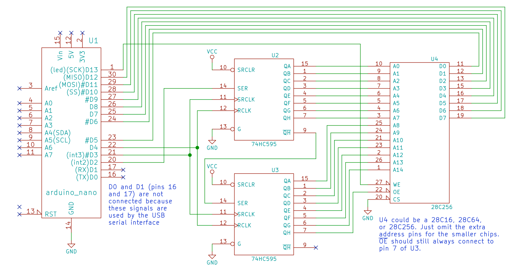 hight resolution of github beneater eeprom programmer arduino eeprom programmer here is the programmer schematic