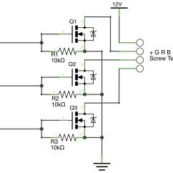 Led Circuit Diagram Sankey For A Washing Machine Rgb Light Schematics Free Engine Image