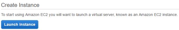 Launch Instance