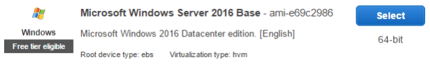 Microsoft Windows Server 2016 Base