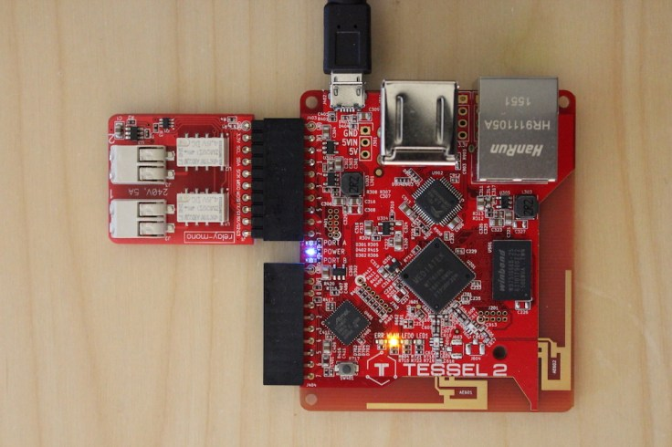 Tessel 2 and its relay module