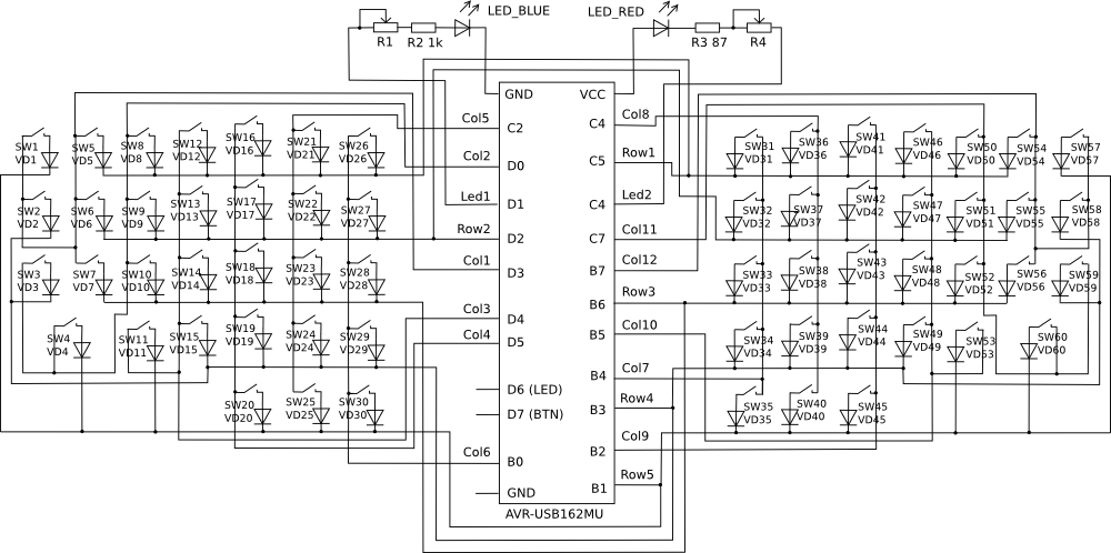 Custom Mechanical Keyboard Wiring Diagram : 41 Wiring