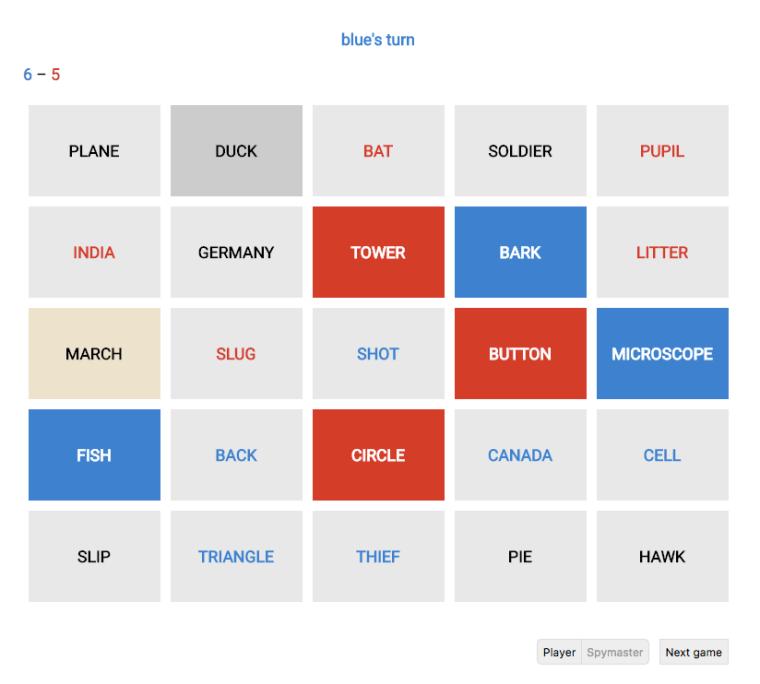 GitHub - jbowens/codenames: Play codenames online